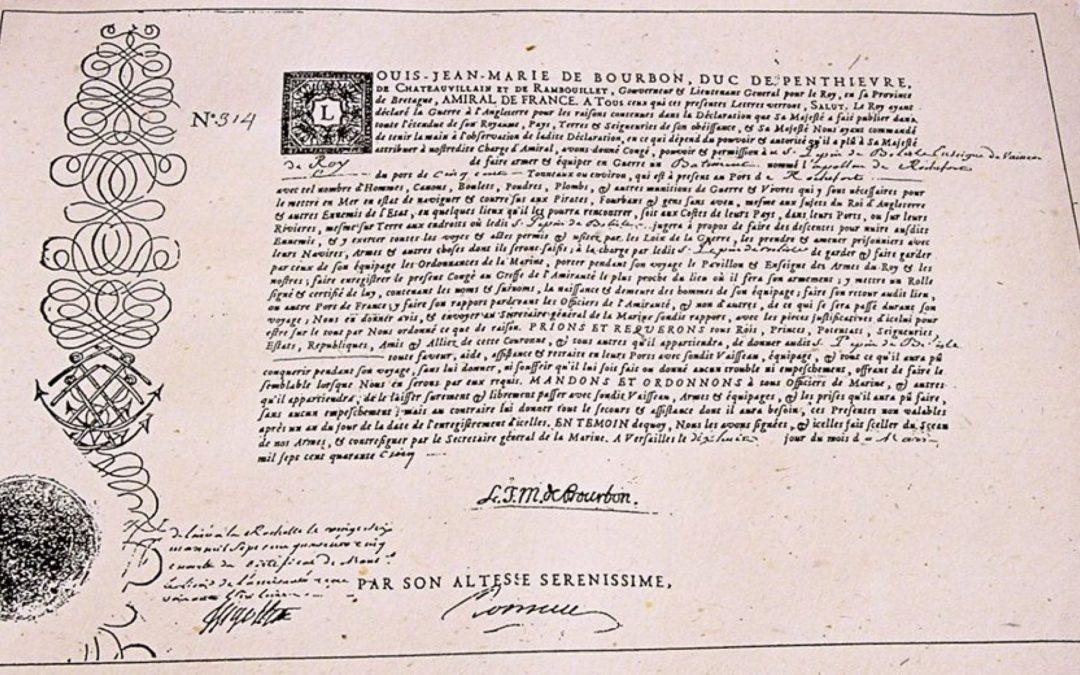 Plongée dans l'histoire des corsaires et des armateurs de Saint-Malo…