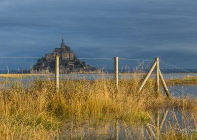 Héberger au Mont Saint-Michel©Serge Bizeul